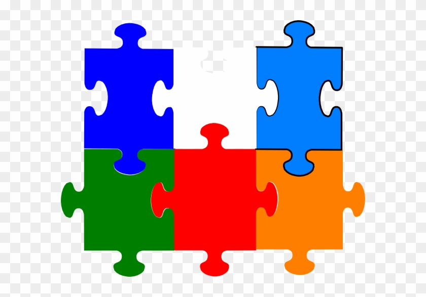 5 Jigsaw Puzzle Pieces #296498