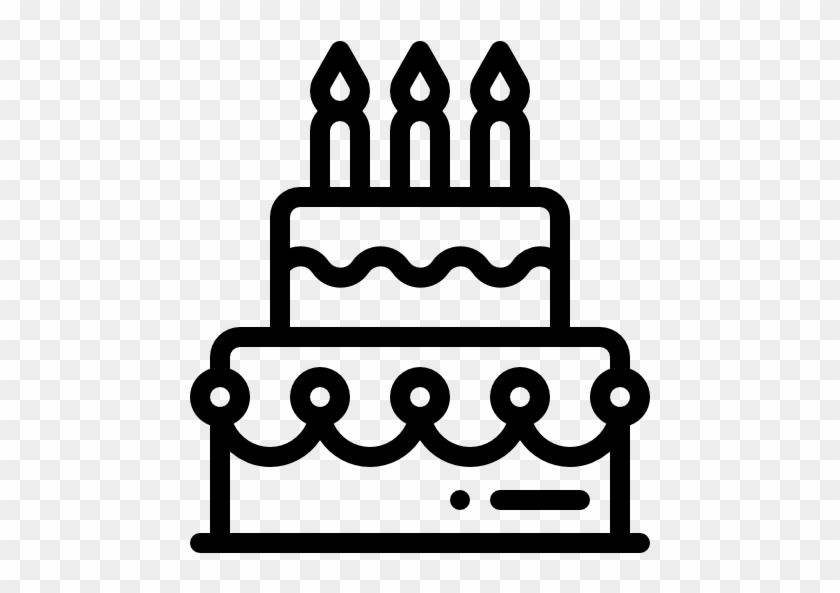 Birthday Cake Free Icon Cake Love Clipart Black And White Free