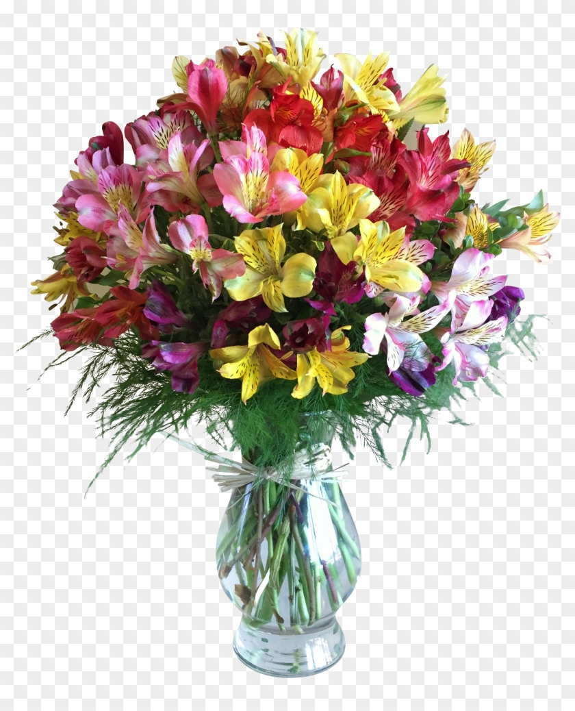Lily Of The Incas In Houston, - Pink Flowers Bouquet #296804