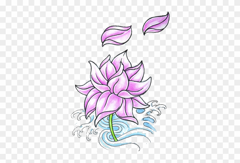 Stencil Flowers - Google Search - Lotus Flower Tattoo Designs #296823