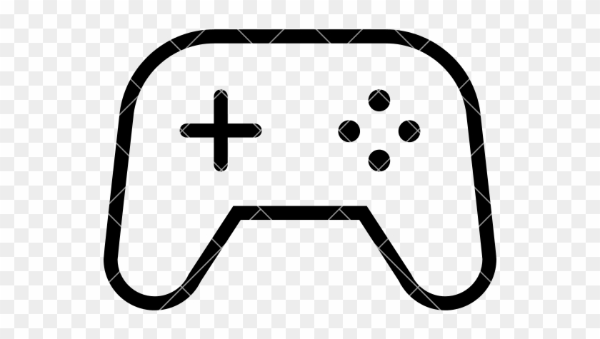Video Game Controller Vector Video Game Controller Outline Free - Game outline