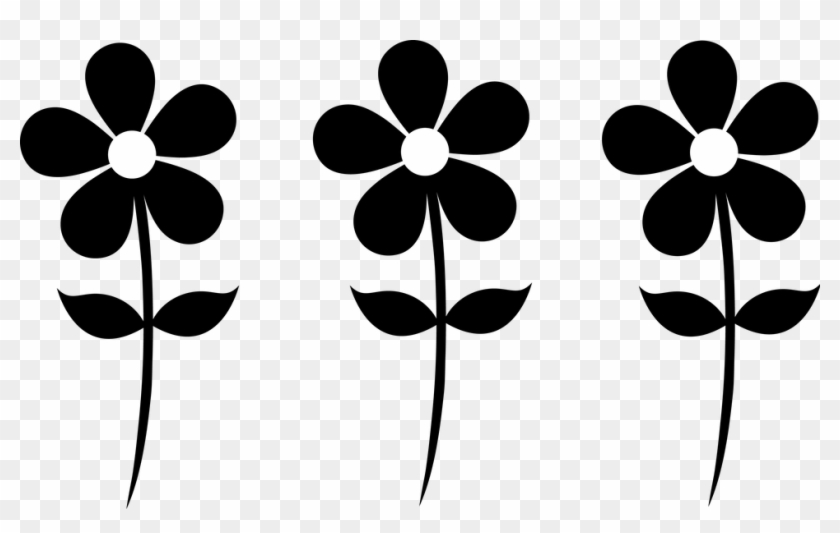 Cartoon Spring Flower Clipart Flower Silhouette Free Transparent