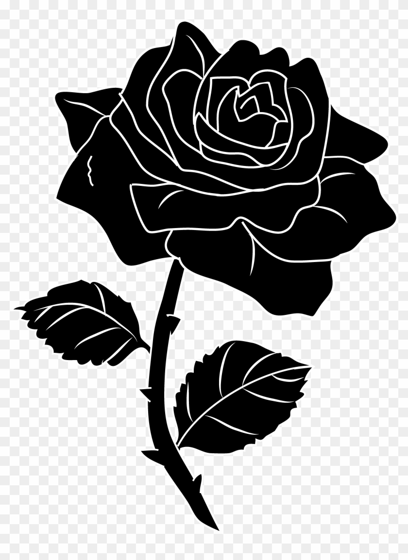Beauty And The Beast Rose Clipart #298003