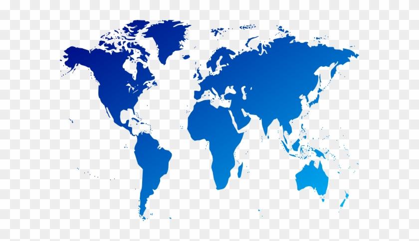 Classy Design Ideas World Map Clipart Clip Art At Clker - World Map Art Png #298125