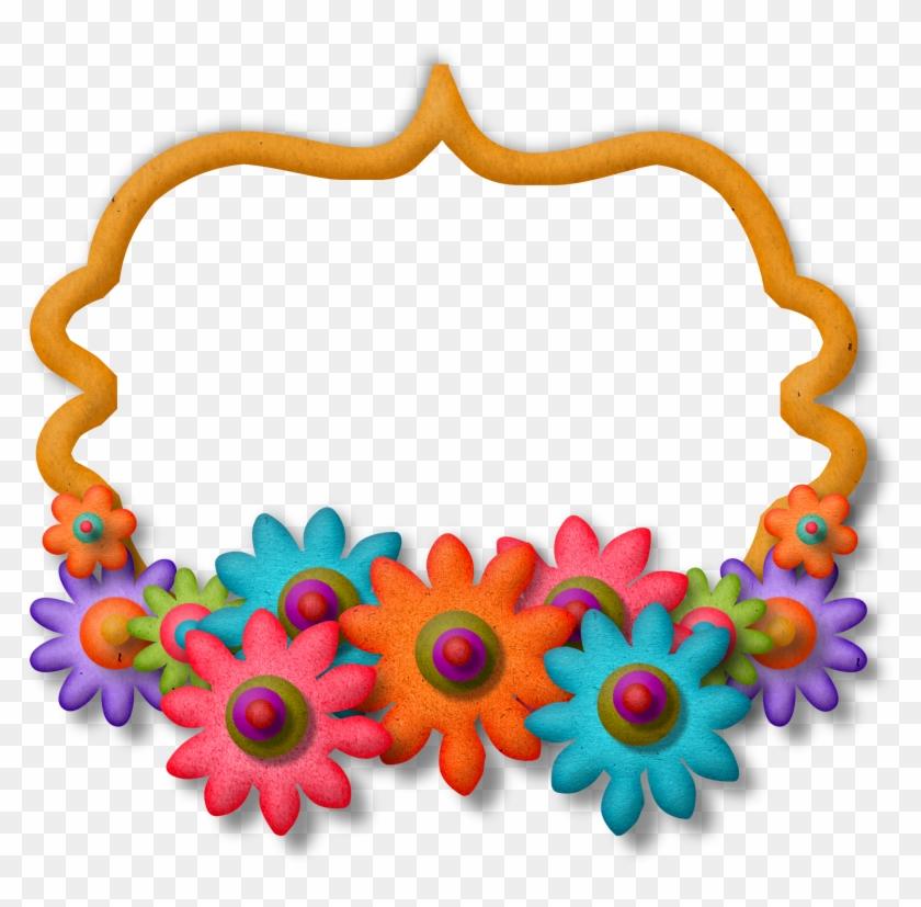 Flower Frameart - Scrapbook Frames Free Download - Free Transparent ...