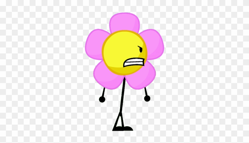 Bfdi Flower Flower - Happy Battle For Dream Island Flower