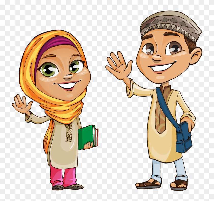 Preview Clipart - Muslim Vector #299190