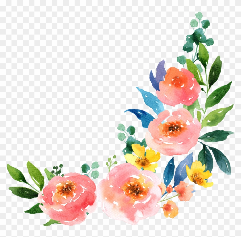 paper watercolour flowers watercolor painting free flower water