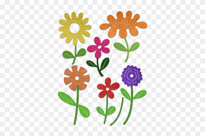 Cheery Lynn Designs Whimsical Flower 8 Piece Die Set - Cheery Lynn Designs B796 Whimsical Flower 8piece Die #299467