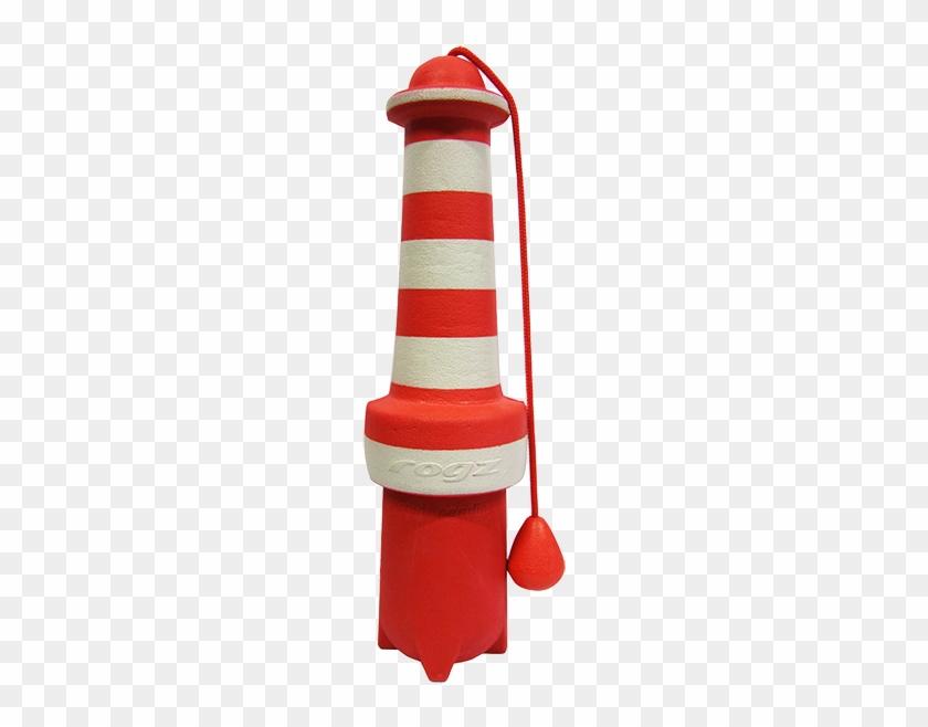 Visit Our Online Shop - Rogz Lighthouse Floating Toy - Diameter 7 X L 25 Cm #299802