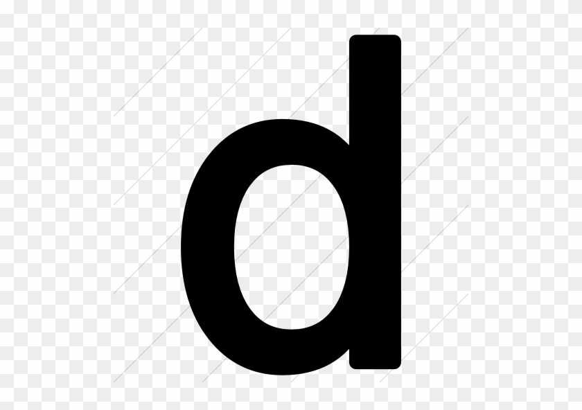 Alphanumerics Lowercase Letter D Icon Style Letter Case Free