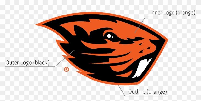 Beaver Logo University Relations And Marketing Oregon - Oregon State Beavers Logo #299979
