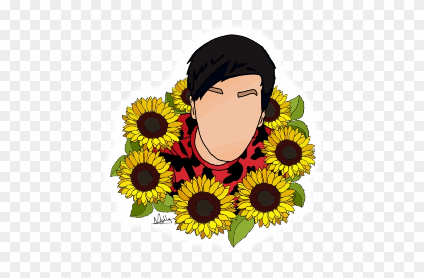 Transparent Sunflower Sunflower Png Aesthetic Free Transparent