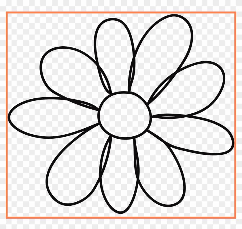 Sun Flower Sunflower Outline Clipart Best Petal Flower - Leo The Late Bloomer Worksheets #300176