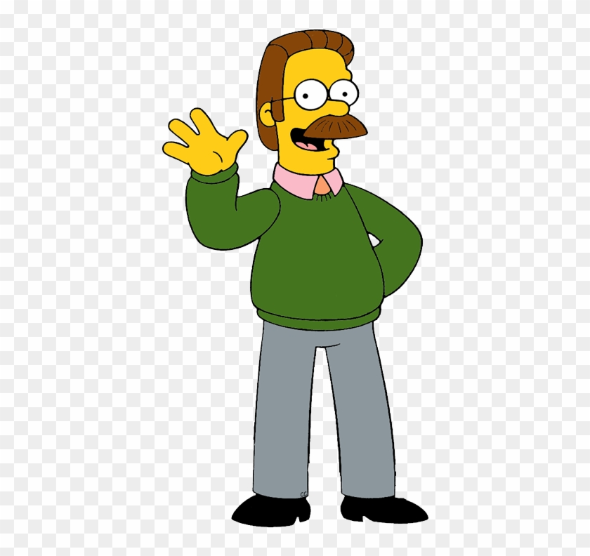 About - Os Simpsons Ned Flanders #300440