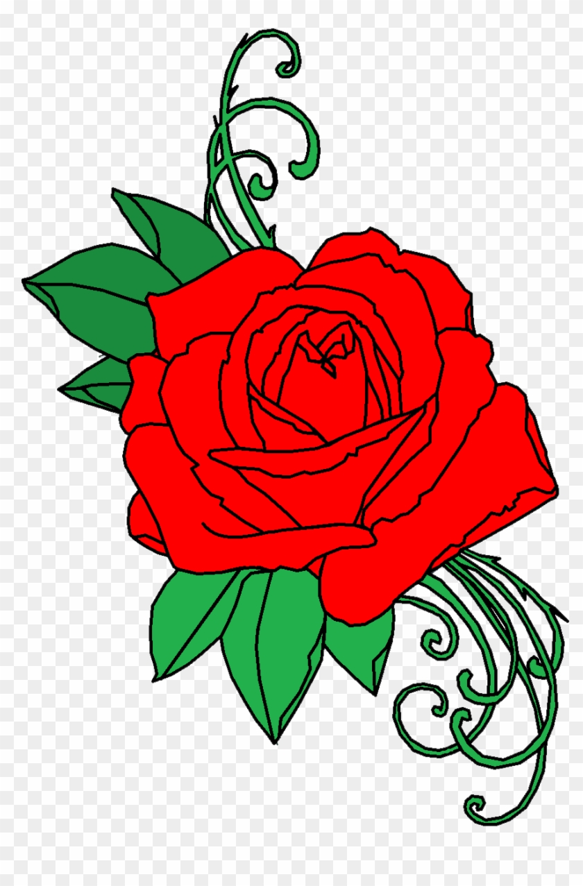 Rose Tattoo Hd Png Clipart Rose Tattoo Png Free Transparent Png