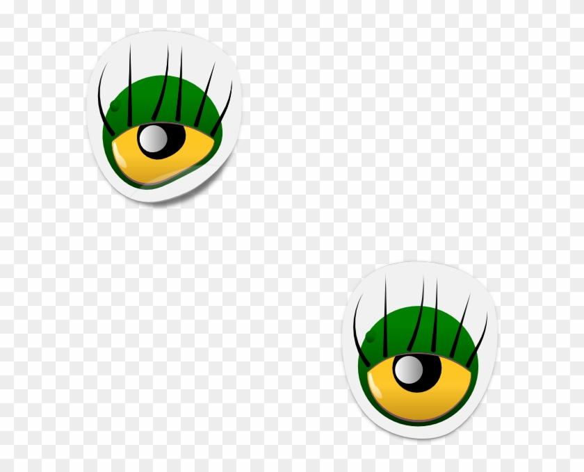 Dogface Jim Monster Eye Sticker Png Images - Cartoon Monster Eyes #300483