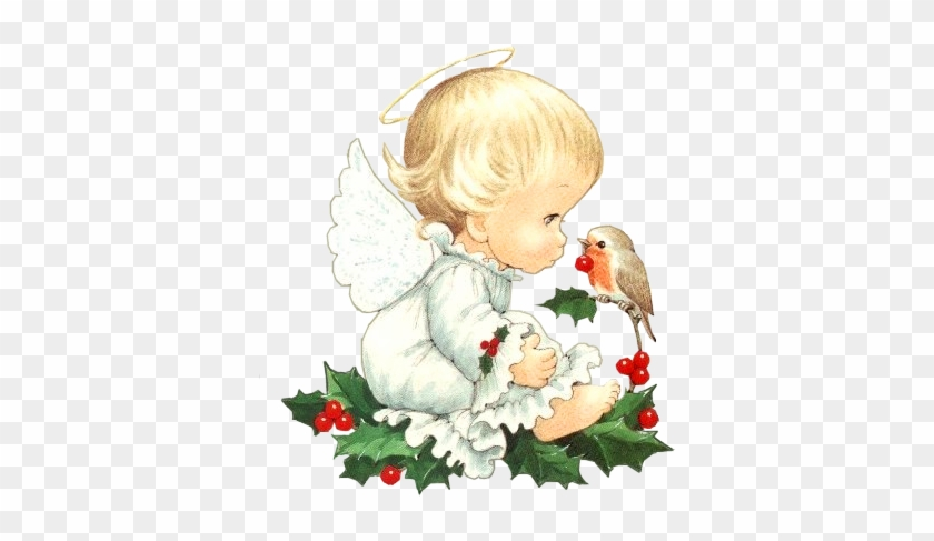 Cute Christmas Baby Angel With Bird Clipart By Joeatta78 Missing Mom In Heaven Free Transparent Png Clipart Images Download