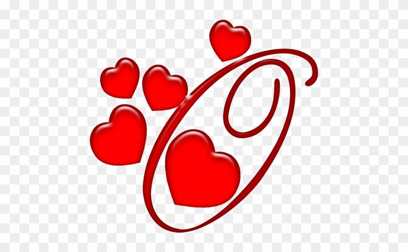Alfabeto Coração Em Png - Alphabet Letters With A Heart #300776