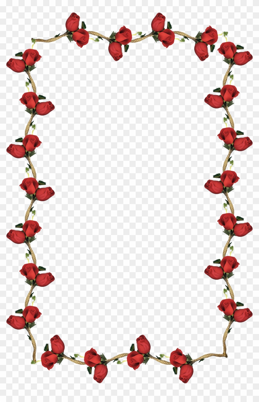 Frames, Search, Research, Searching, Frame - Red Roses Border ...