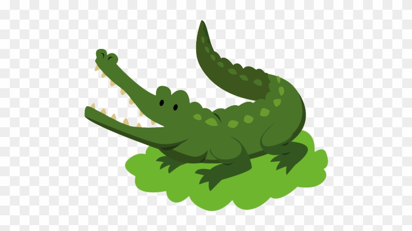 Nile Crocodile Alligator Lion - Nile Crocodile Alligator Lion #301109