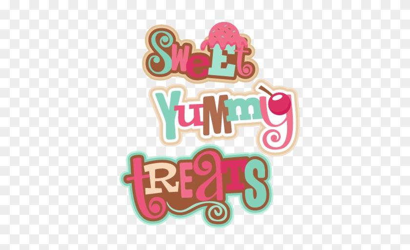 Sweet Titles Svg Scrapbook Cut File Cute Clipart Files - Sweet Titles #301337