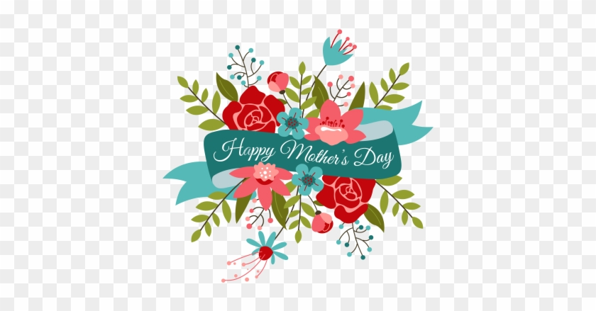 Happy Mothers Day Bouquet Transparent Png Png Images - Happy Mothers Day Flowers #301571