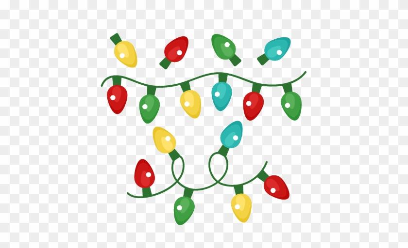 light clipart christmad christmas lights svg free
