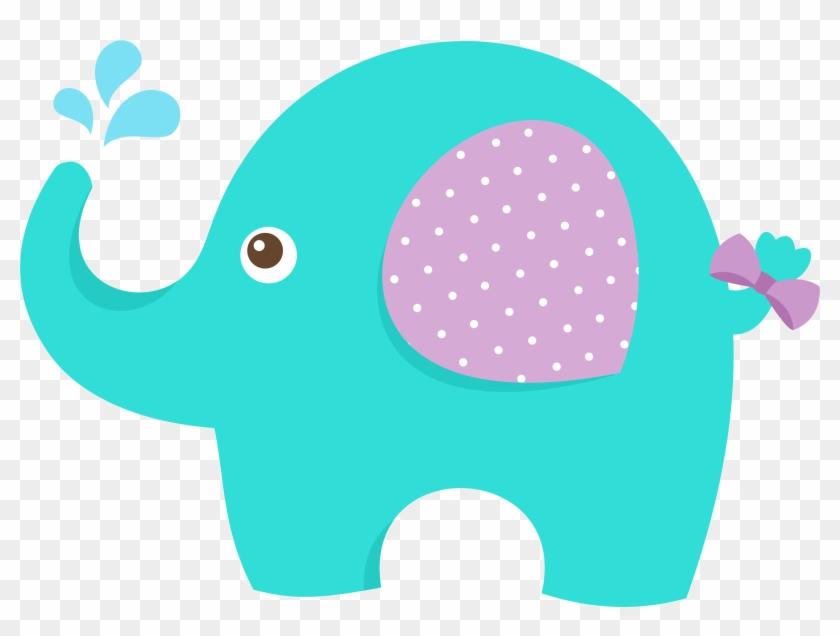 Baby Shower Elephant Clip Art 1657056 - Dibujo De Elefante Bebe Para Baby Shower #301649