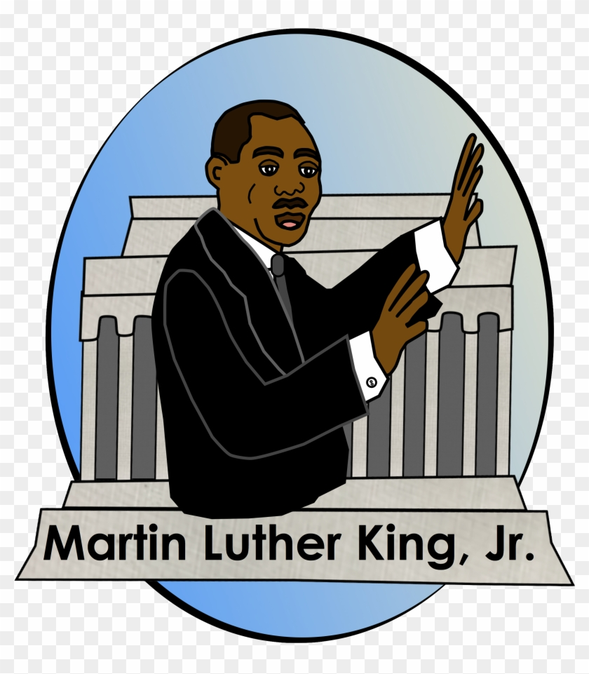 Free Martin Luther King, Jr - Martin Luther King Jr Clipart Jpg #301696