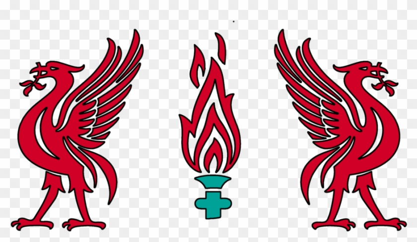 Hq Liverbird Template By I Phil Liverpool Fc Black And White Free Transparent Png Clipart Images Download