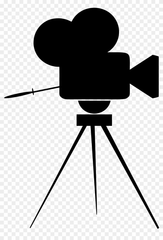 Vintage Movie Camera Icon - Movie Camera Logo Png #302162