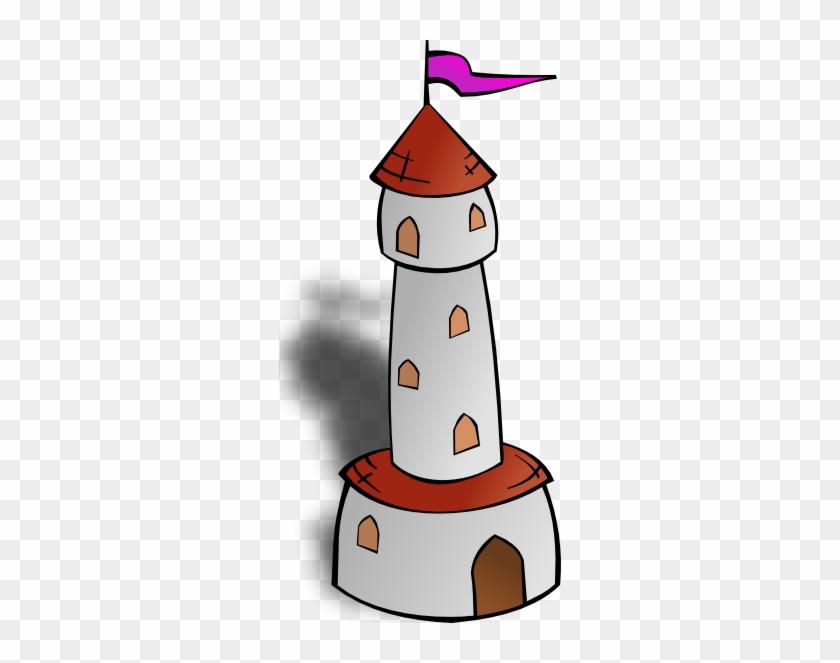 Bridge Clipart Cartoon - Tower Clipart #302176