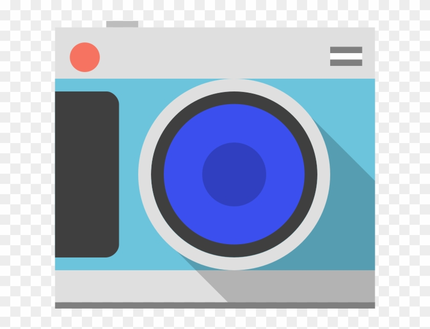 Photographic Film Camera Clip Art - Circle #302251