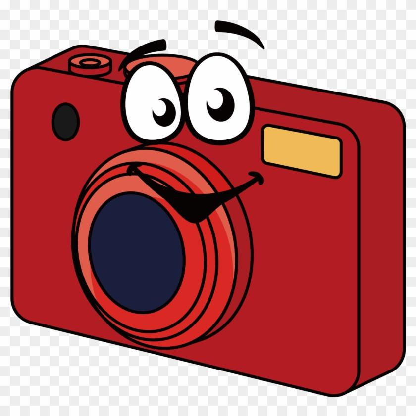 Dessin Appareil Photo digital camera cartoon clip art - dessin appareil photo numerique