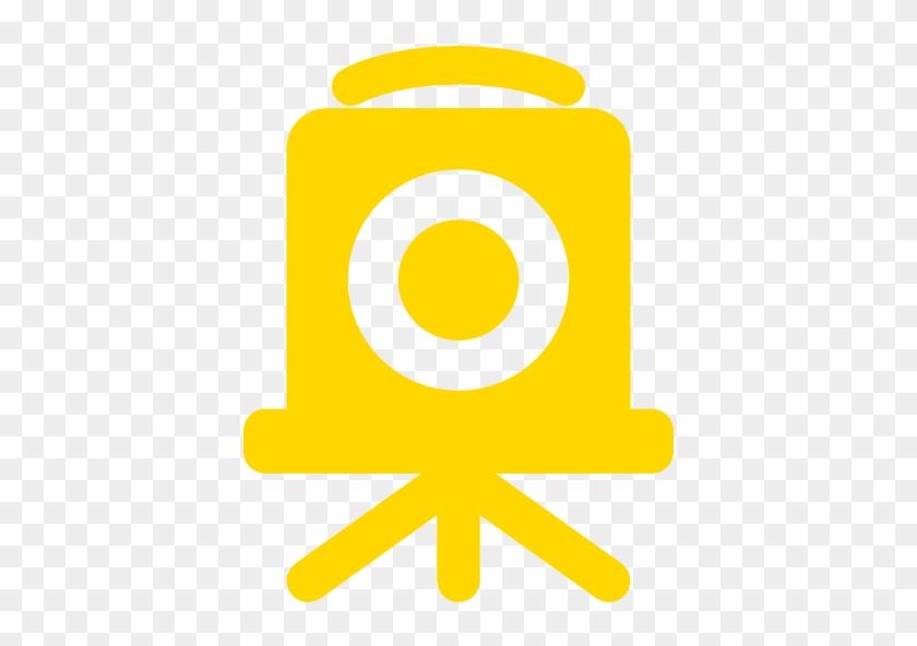 Video Camera Icon White #302403