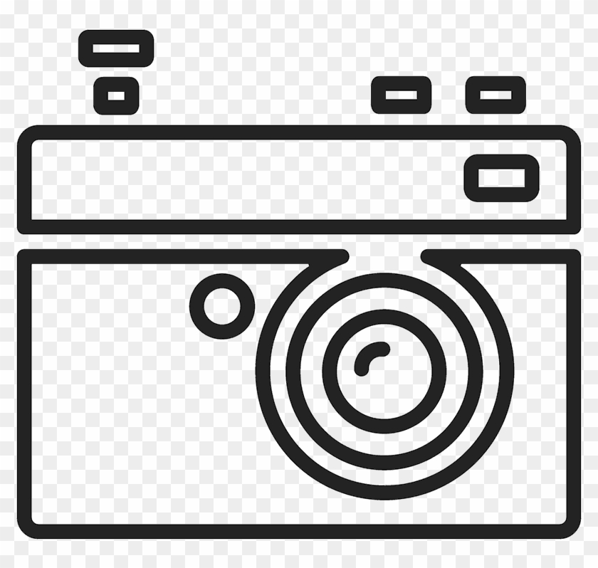 80 s camera outline rubber stamp postage stamp free transparent