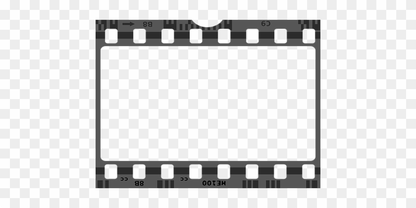 Movie Cinema Negative Frame Camera Border - Film Strip Png - Free ...