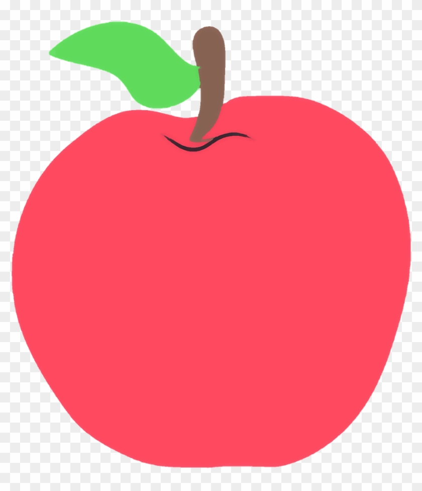 School Apple Clipart - Apple Illustration Png #303240
