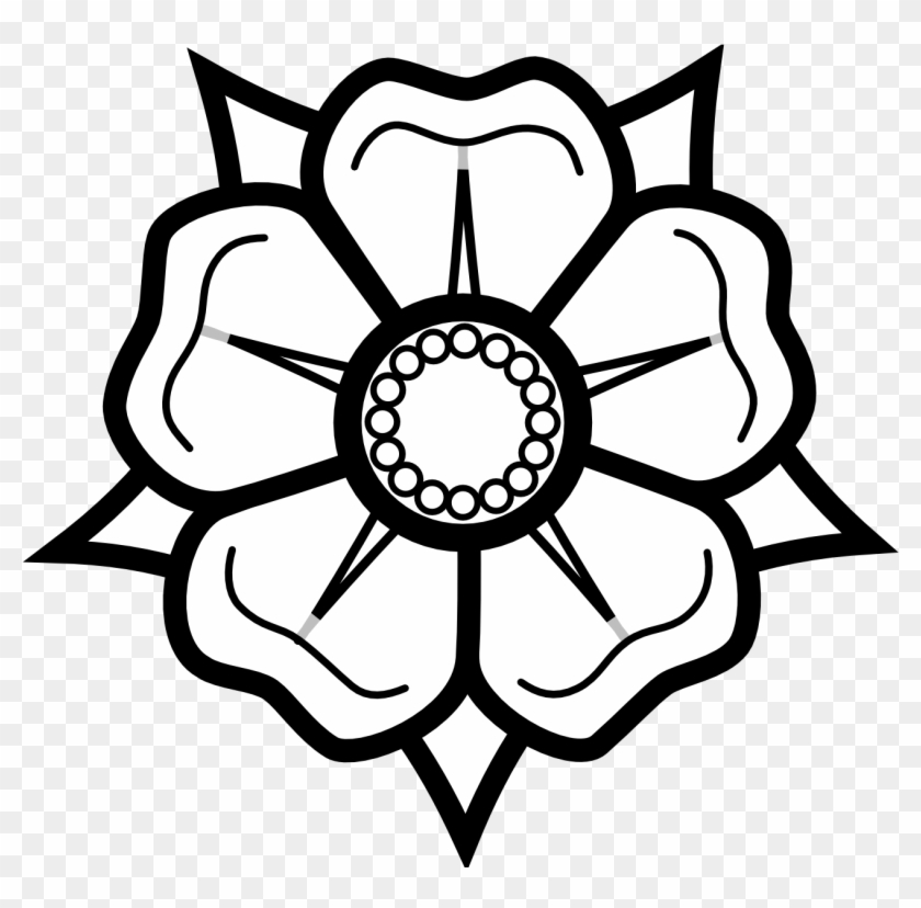 Black And White Flower Drawing Easy Flowers To Draw Free Transparent Png Clipart Images Download