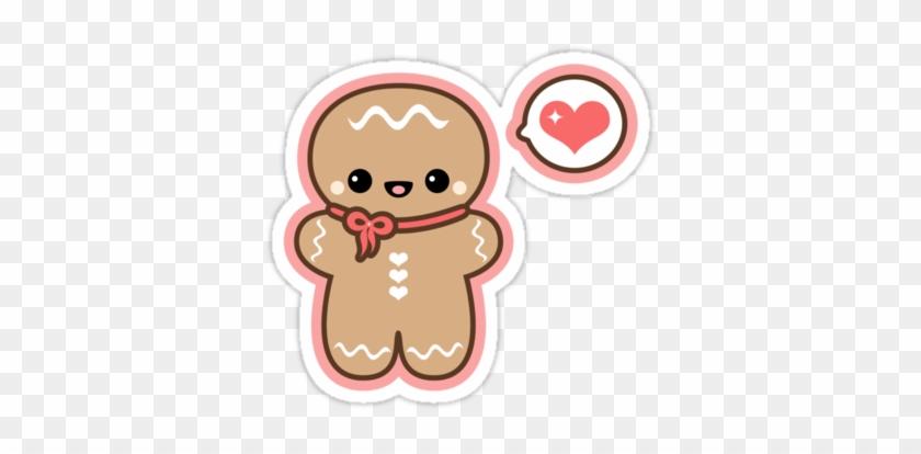 Galleta De Jenjibre - Cute Cartoon Gingerbread Man #303748
