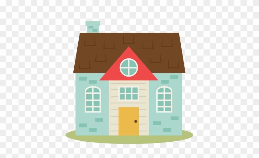 Cute House Clipart - Cute House Clipart Free #303781