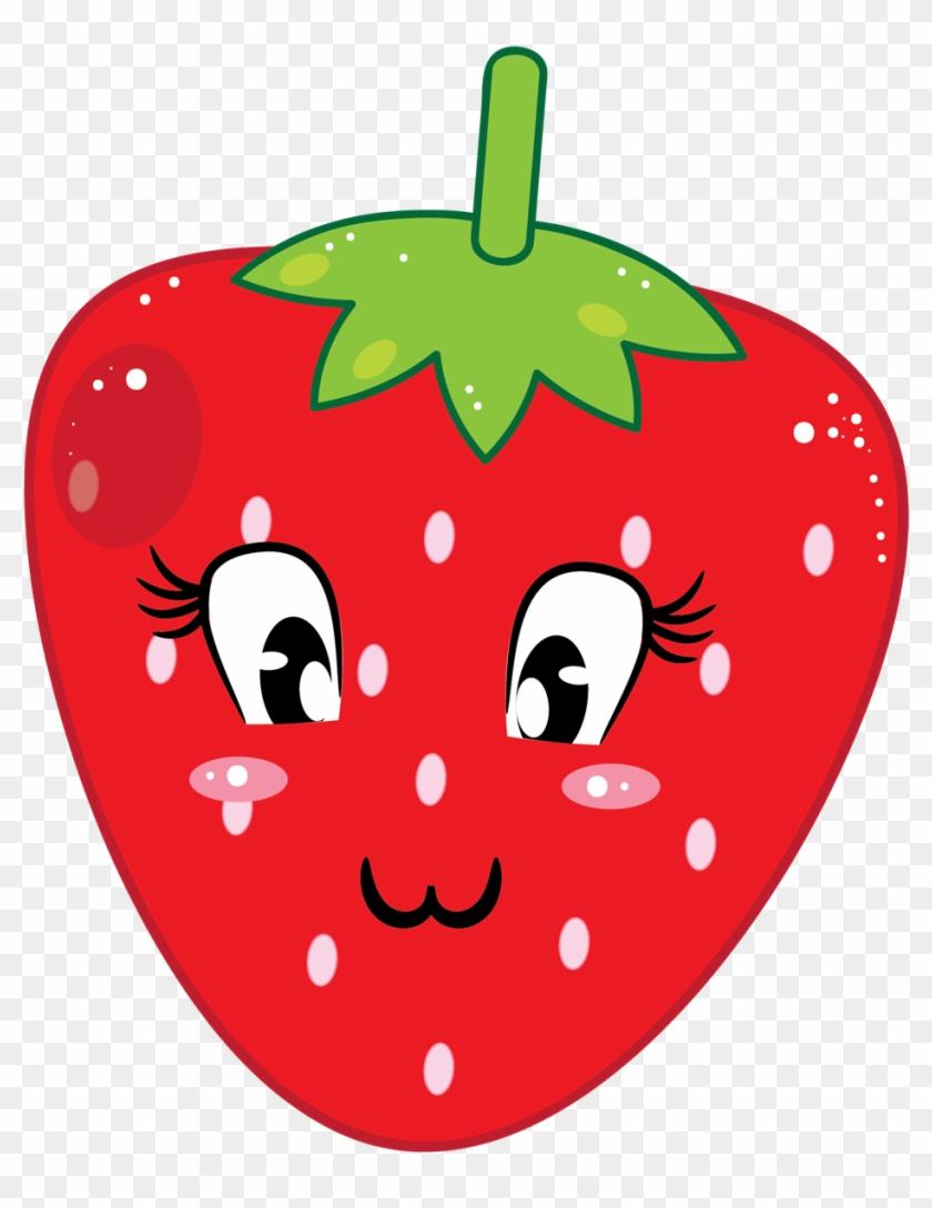 Strawberry Clipart Strawberry Fruit Clip Art Downloadclipart - Cute Strawberry Clipart #303855