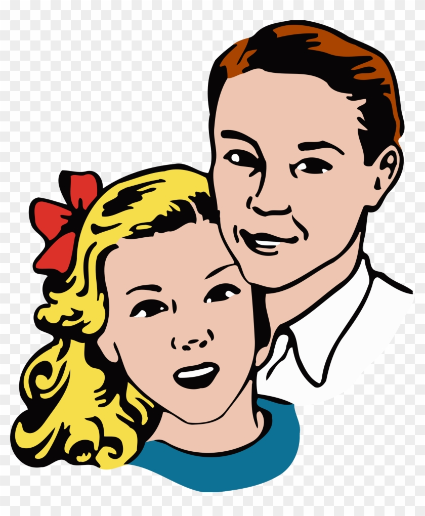 Clipart - Young Couple Png #303949