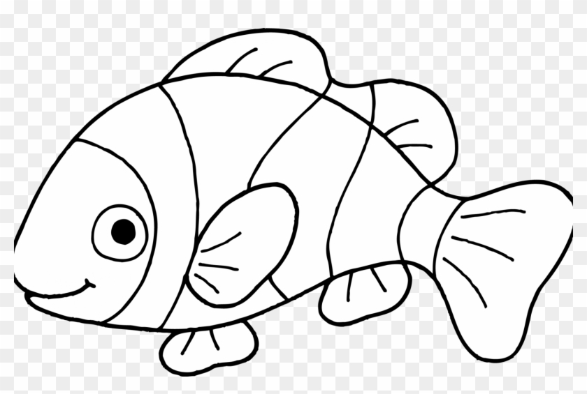 graphic regarding Fish Printable identified as Clown Fish Coloring Website page Absolutely free Printable Web pages For Small children