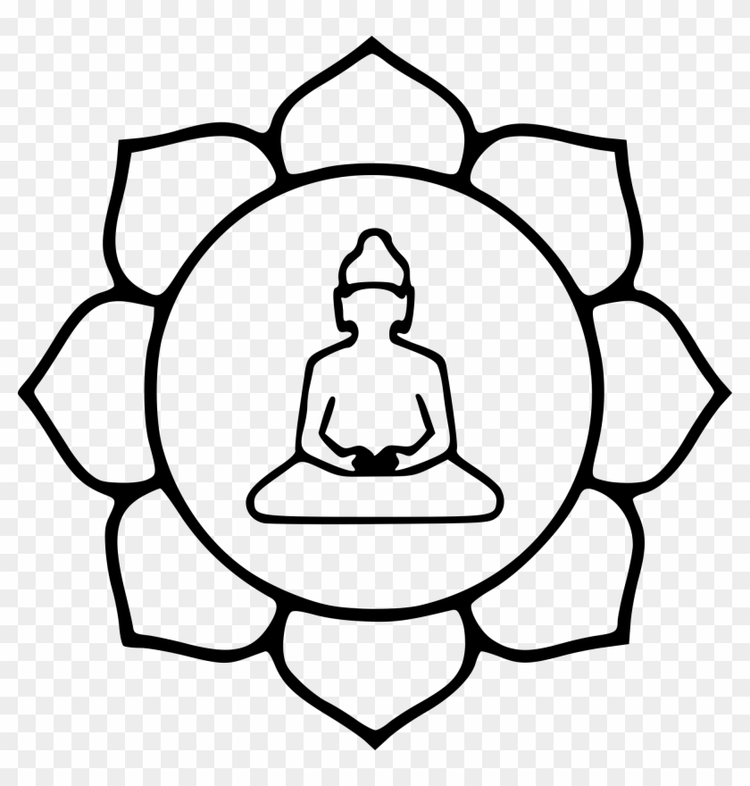 Lotus Flower Line Drawing 21 Buy Clip Art Symbol Of Buddhism