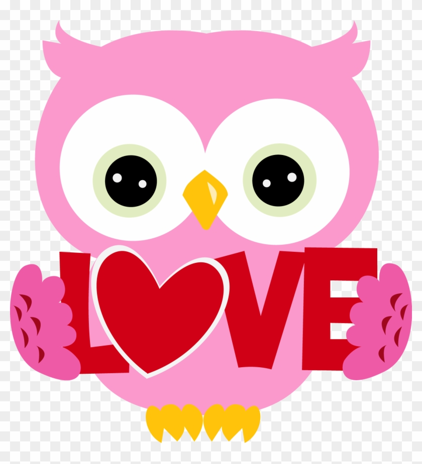 Black - Valentine Owl Clipart #304650