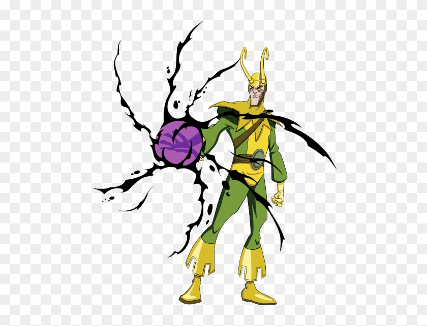 Marvel Loki Clipart Avengers Earths Mightiest Heroes Free