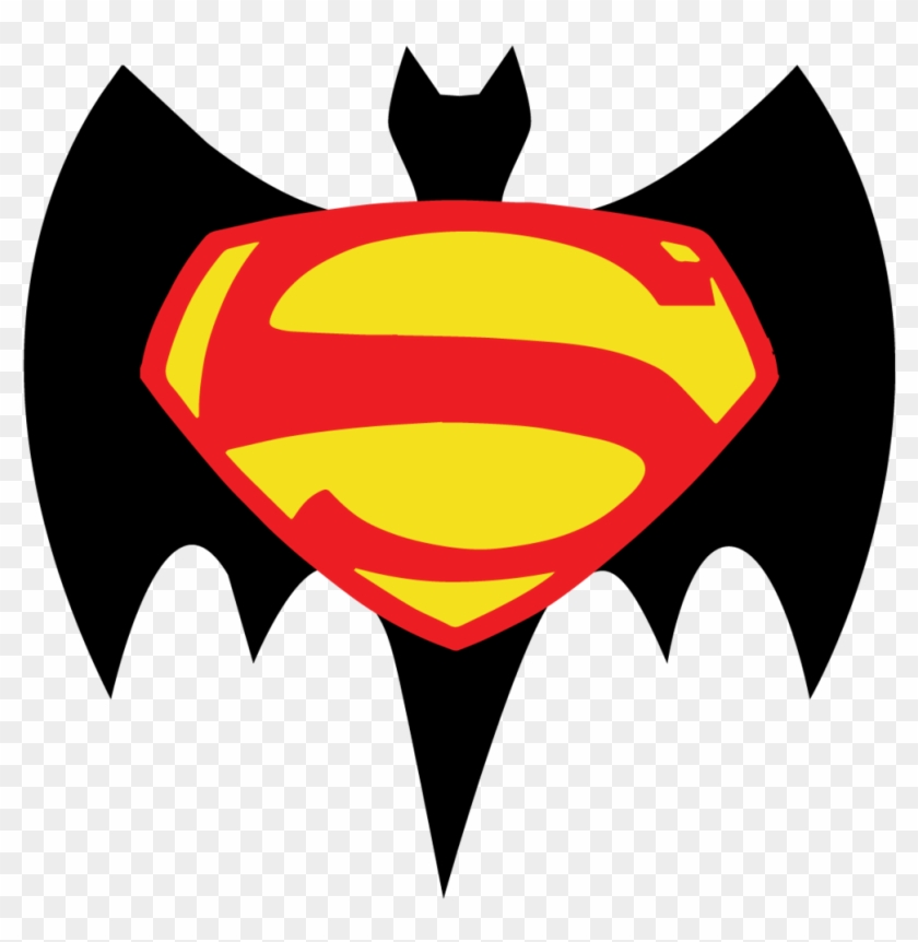 Batman V Superman Retro Logo By Jarvisrama99