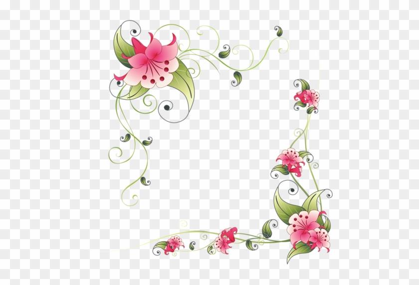 Flovin440 - Flower Page Border Design #305140